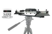 SLIDER KAMERA 80CM + SINGLE TRIPOD SEMUT DIY