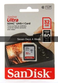 SanDisk Ultra SDHC  32 GB Class 10 80MB/s NEW!!!!!