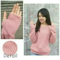 CBT Roundhand sweater dusty