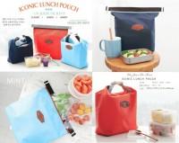 ICONIC INSULATED LUNCH BAG ( ( TAS BEKAL MAKAN TAHAN PANAS & DINGIN )