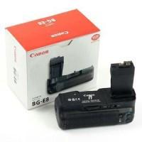 Battery Grip Canon BG-E8 untuk kamera canon 550d , 600d , 650d , 700d