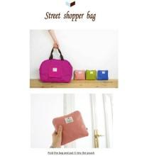 tas lipat belanja nilon nylon - shopping bag in bag travel organizer