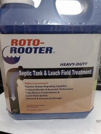 Bakteri Roto Rooter Septic Tank n Leach Field Treatment Heavy