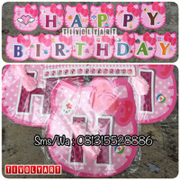 Bunting Flag / Banner Happy Birthday Hello Kitty