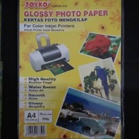 Kertas print foto glossy A4 JOyko murah