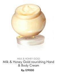 Milk & Honey Gold Nourishing - Hand & Body Cream