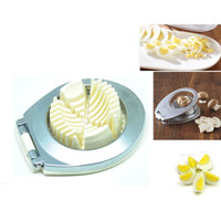 3 in 1 Stainless Steel Egg Cutter / Pengiris dan Pemotong Telur
