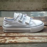 sepatu anak converse putih