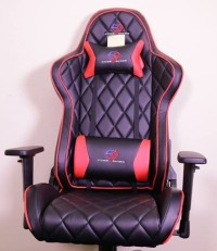 CUBE RACING - Gaming Chair Lux Series - Red - CUBE-201-BR