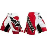 "HAYABUSA ""Chikara"" Celana Combat/ MMA Fightshorts - Red/White"