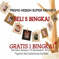 Frame Photo Gantung / Bingkai Foto Gantung / Jemuran 10 pcs 3IN1