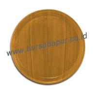 Bursa Dapur KWI Nampan/ Baki Kayu Bundar 30 cm