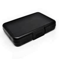 Case Holder Plastic Storage Box for Memory Card (4 Compact + 4 SD + 4