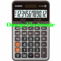 Casio AX 120 S - Calculator Desktop Kalkulator Meja Kantor AX-120S