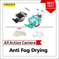 Anti Fog Drying Filter Insert for Xiaomi Yi, GoPro, Bpro, SJCAM (12Pcs