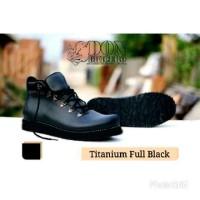 SEPATU DONDHICERO TITANIUM FULL BLACK BOOTS MADE IN FRANCE