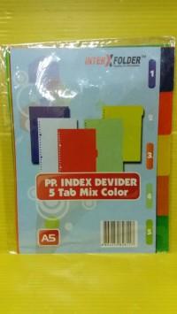 Pembatas Buku Binder | Binder File A5 Plastik