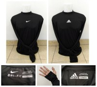BIG Size Manset / Baselayer Nike & Adidas 2XL fit to 3XL