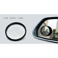 Wide Angle Blind Spot Car Mirrors - Black