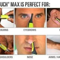 Micro Touch Shaver Trimmer Alat Cukur Rambut Halus Alis Bulu Hidung