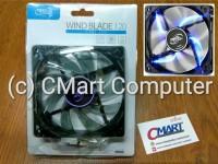 DeepCool Fan Casing Wind Blade BLUE LED 12cm 12 case cooler - WB120-BL