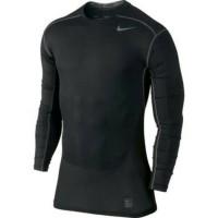 Kaos Tshirt Nike Hypercool Shirt Running Gym Sport Olahraga Longsleeve
