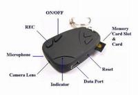 TOP PRODUK Spy Cam Remote Mobil + Gantungan Kunci (Slot Micro SD)