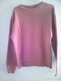 sweater bahan baby terry