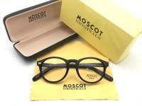 Frame Kacamata Minus Moscot Miltzen Pria Wanita Hitam Kilap