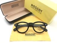 Frame Kacamata Minus Moscot Lemtosh Size M USA Pria Wanita Hitam Kilap