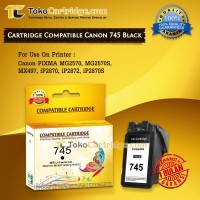 Cartridge Tinta Canon PG745 PG 745 PG-745 Black Catridge ip2870 mg2570