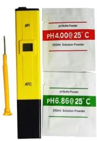 pH meter Digital, Ukur Asam-Basa Air/Cairan.