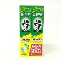 DARLIE DOUBLE ACTION MINT 225 GR SAVE 50% BELI 2 (ODOL)