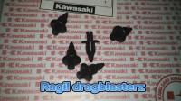 rivet body/kuncian fairing ninja rr old/new/250 R/FI/ninja 250 rr mono