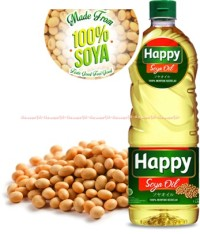 Happy Soya Oil Minyak Goreng Kedelai Alami 2litter