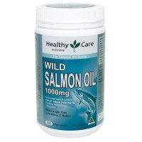 Healthy Care Wild Salmon Oil 1000mg - 500 caps