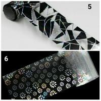Nail foil fimo leaf foil bahan craft bahan nail art transfer foil