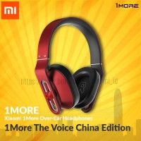 Xiaomi 1more Over-Ear Headphones The Voice China Edition - Merah