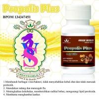 propolis plus capsule green world   obat flu   obat sinusitis   radang
