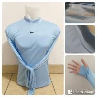Manset / Baselayer Nike Light Blue