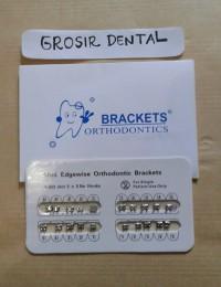 Bracket Orthodontics Amplop Cute Metal Edgewise