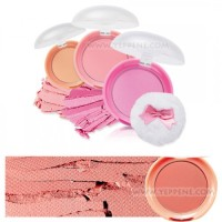 etude house lovely cookie blusher #11 peach choux wafers