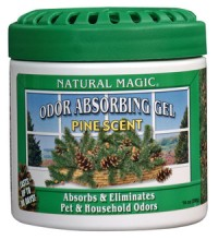 Natural Magic Odor Absorbing Gels Pine - Putih
