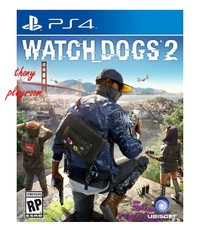 Kaset PS4 Game : Watch Dogs 2