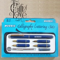 Morris Calligraphy / Lettering Set / Fountain Pen