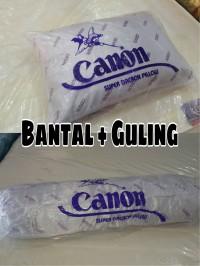 Promo paket bantal dan guling dacron canon