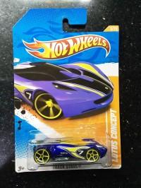 Hot Wheels Langka Lotus Concept Blue Track Stars Hotwheels HW keren