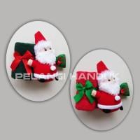 Paket Handuk + Boneka Santa / Souvenir Natal / Kado Natal / Christmas