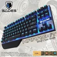 Keyboard Gaming Mechanical Sades Karambit SA-KB87