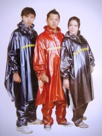 Jas Hujan Ponco Tangan Celana Tiger Head Poncho 68214 Murah supplier